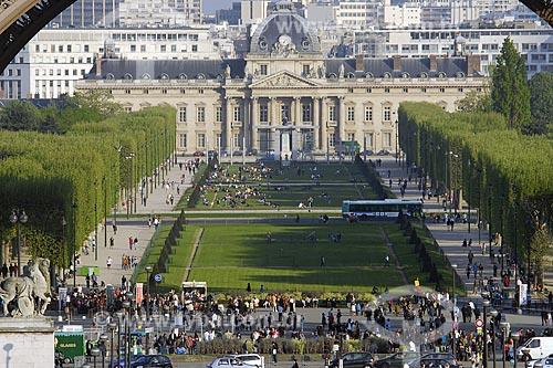 Assunto: Ecole Militaire - Champ de Mars / Local: Paris - França / Data: 19 de Abril de 2007