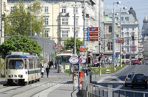 Assunto: Centro de Viena / Local: Viena - Áustria / Data: 21 de Abril de 2007