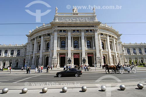 Assunto: Teatro Burgtheater / Local: Viena - Áustria / Data: 21 de Abril de 2007