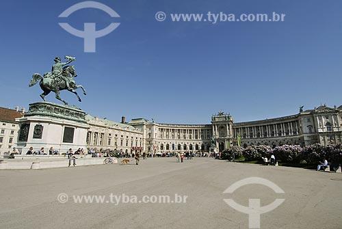 Assunto:  Palácio Hofburg / Local: Viena - Áustria / Data: 21 de Maio de 2007