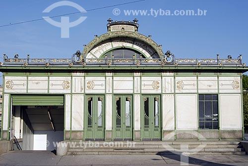 Assunto: Estação Karlsplatz do metro de Viena / Local: Viena - Áustria / Data: 22 de Abril de 2007