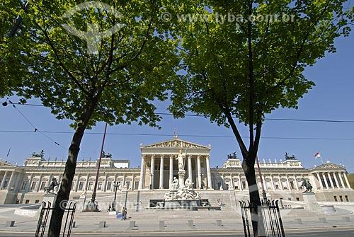 Assunto: Parlamento de Viena / Local: Viena - Áustria / Data: 22 de Abril 2007
