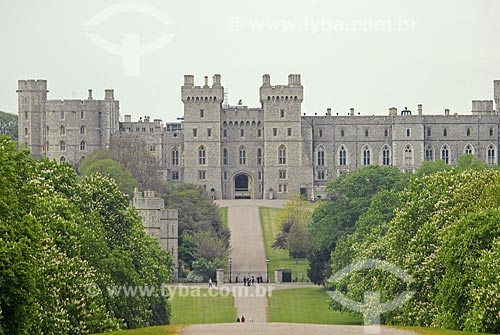 Assunto: Castelo de Windsor / Local: Windsor - Inglaterra / Data: 25 de Abril de 2007