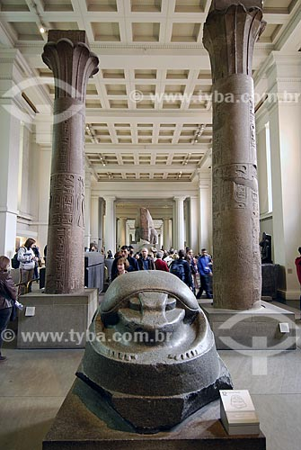 Assunto: Museu Britânico (British Museum) - Egito / Local: Londres - Inglaterra / Data: 26 de abrilc5/2007