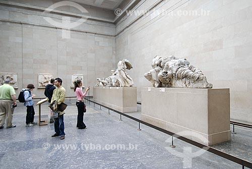 Assunto: Museu Britânico (British Museum) - Grécia - Partenon / Local: Londres - Inglaterra / Data: 20 de Abril de 2007
