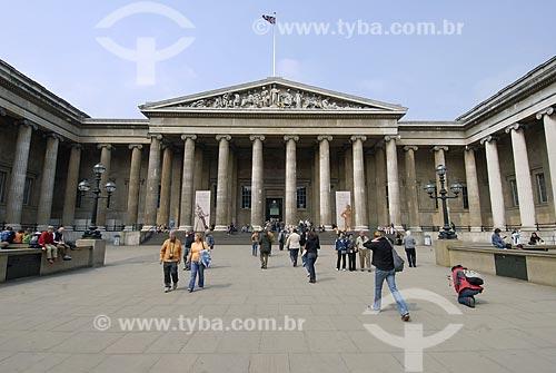 Assunto: Museu Britânico (British Museum) / Local: Londres - Inglaterra / Data: 26 de Abril de  2007
