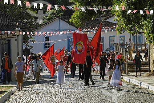 Assunto: Festa do Divino Espírito Santo em Pirenópolis / Local: Pirenópolis (GO) / Data: 26 de Maio de 2007