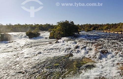 Assunto: Corredeiras do Rio Preguiça / Local: Sapezal (MT) / Data: 12 de Junho de 2007