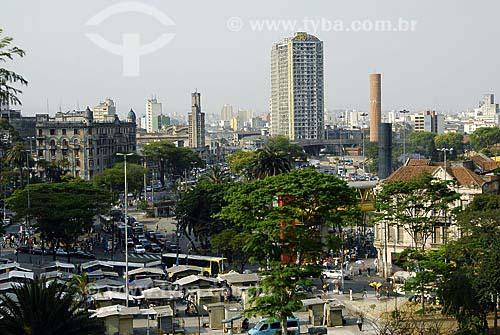 Assunto: Parque Dom Pedro com o edifício São Vito / Local: São Paulo (SP) / Data: 06 de Outubro de 2007