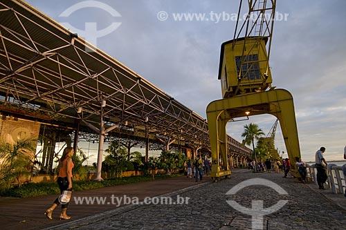 Assunto: Estação das Docas (Companhia das Docas) centro comercial, gastronômico e cultural de Belém / Local: Belém (PA) / Data: 18 de Julho de 2008
