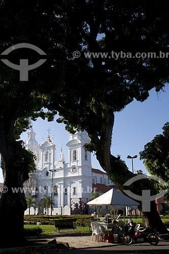 Assunto: Igreja de Nossa Senhora das Graças (Catedral da Sé) - Igreja barroca construida em 1771 / Local: Belém (PA) / Data: 20 de Julho de 2008