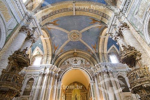 Assunto: Interior da Igreja do Carmo, erguida no século XVII e foi reconstruída em 1716 / Local: Balém (PA) / Data: 20 de Julho de 2008