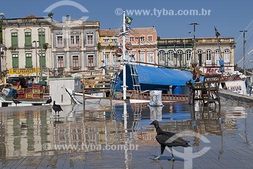 Assunto: Urubus no Mercado Ver-o-peso - Centro Histórico / Local: Belém (PA) / Data: 20 de Julho de 2008