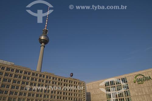 Assunto: Praça Alexanderplatz, lugar turistico e icone da cidade de Berlim / Local: Berlim - Alemanha / Data: 27 de setembro de 2008