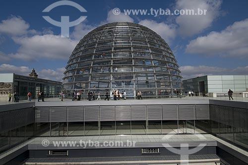 Assunto: Predio do Reichstag em Berlim / Local: Berlim - Alemanha / Data: 27 de Setembro de 2008