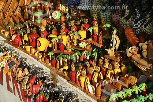 Assunto: Souvenirs vendidos em pontos turísticos de Aracajú / Local: Aracajú (SE) / Data: 28 deAgosto de 2008