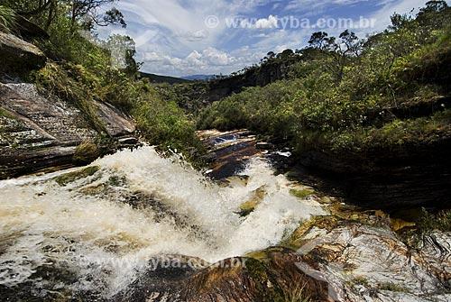 Assunto: Rio Pardo no Parque Estadual do Ibitipoca / Local: Vila de Ibitipoca - Lima Duarte (MG) / Data: 13 de Dezembro de 2006