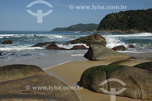 Assunto: Praia Brava / Local: Trindade - Paraty (RJ) / Data: 01 de Agosto de 2007