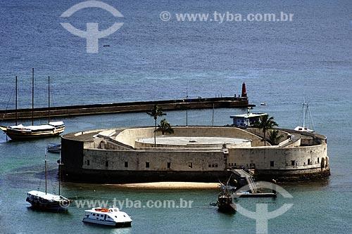 Assunto: Forte São Marcelo / Local: Salvador (BA) / Data: 18 de Julho de 2008