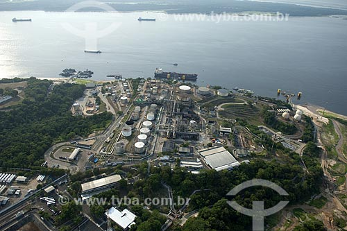 Assunto: Vista aérea da Refinaria Isaac Sabbá (REMAM), da Petrobrás / Local: Manaus (AM) / Data: 29 de Outubro de 2009