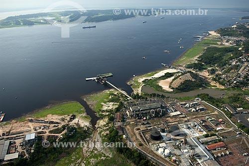 Assunto: Usina termelétrica de Mauá, na beira do rio Negro, que alimenta Manaus / Local: Manaus (AM) / Data: 29 de Outubro de 2007
