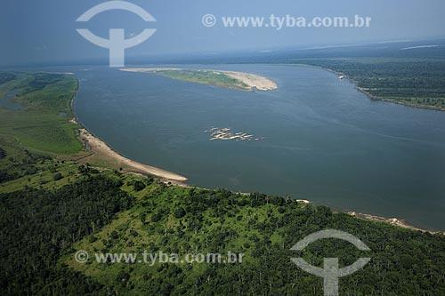 Assunto: Rio Madeira, perto da boca com o rio Amazonas / Local: Amazonas (AM) / Data: 29 de Outubro de 2007