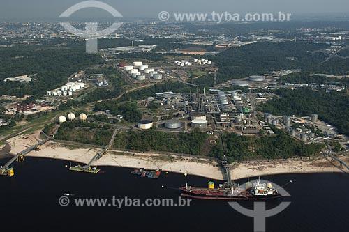 Assunto: Vista aérea da Refinaria Isaac Sabbá (REMAM), da Petrobrás / Local: Manaus (AM) / Data: