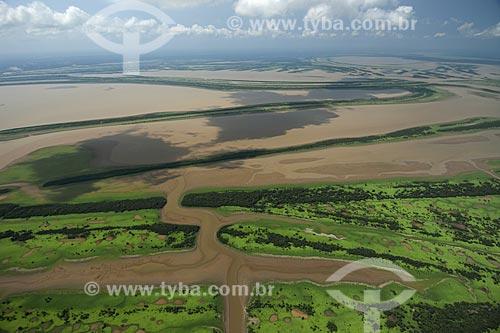 Assunto: Várzea amazônica ao sul de Itacoatiara, rica em lagos, furos, paranás / Local: Amazonas (AM) / Data: 29 de Outubro de 2007
