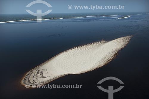 Assunto: Banco de areia na Estação Ecológica de Anavilhanas (ESEC), no rio Negro / Local: Amazonas (AM) / Data: 26 de Outubro de 2007