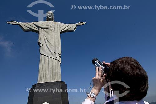 Assunto: Estátua do Cristo Redentor / Local: Rio de Janeiro - RJ - Brasil / Data: 2008