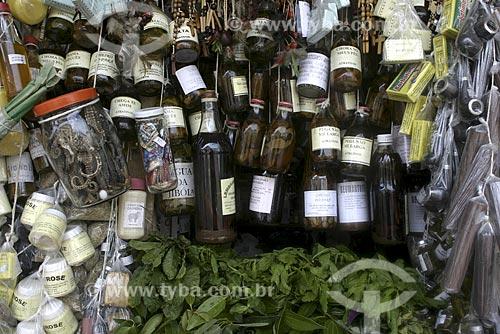 Assunto: Feira do feitiço - Mercado Ver o Peso / Local: Belém (PA) / Data: Abril de 2004