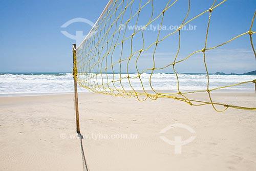 Assunto: Rede de Volei na Praia Brava / Local: Florianópolis - Santa Catarina (SC) - Brasil / Data: 05/12/2008