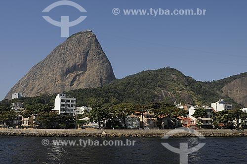 Assunto: Pão de Açúcar e parte da Urca / Local: Rio de Janeiro - RJ - Brasil / Data: Novembro de 2008