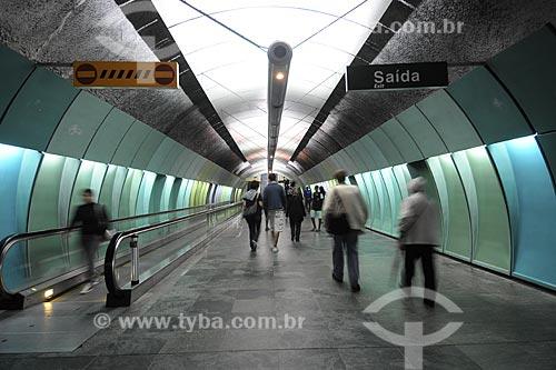Assunto: Estação Arco Verde do metrô  / Local: Copacabana - Rio de Janeiro - RJ - Brasil / Data: Novembro de 2008