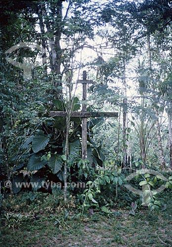 Cruzeiro - Quinta Carmita, Antigo colégio (internato) mixto às margens do Rio Maguary, construído no final do século 19 pela família Coutinho de Oliveira.  A casa foi demolida  por volta de 1990  - Ananindeua - Pará - Brasil