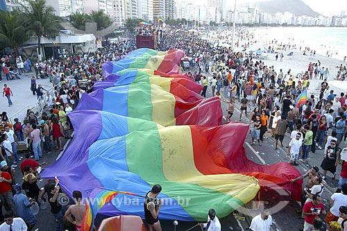 Assunto: Parada Gay / Local: Copacabana - Rio de Janeiro - RJ - Brasil / Data: 25/06/2004