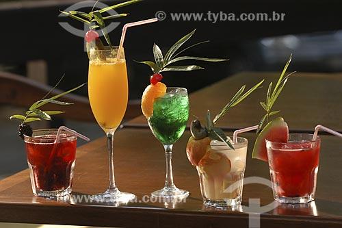 Assunto: Bebidas - Drinks / Local: Rio de Janeiro - RJ - Brasil / Data: 16/01/2005