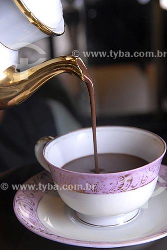 Assunto: Bebida - Chocolate Quente / Local: Rio de Janeiro - RJ - Brasil / Data: 26/02/2006