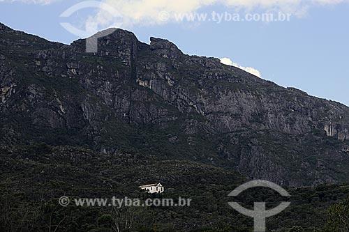 Assunto: Igreja no Santuário Ecológico Parque Natural do Caraça  / Local: Parque Natural do Caraça -  Minas Gerais (MG) - Brasil / Data: 21/04/2009
