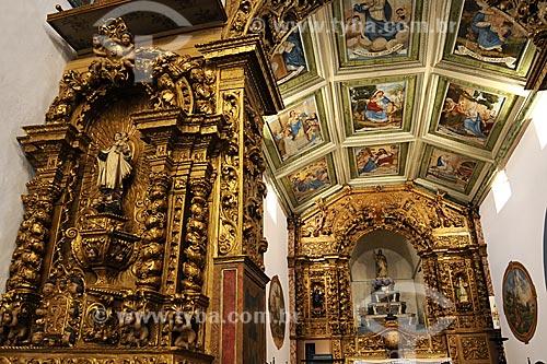 Assunto:Altar da Igreja Nossa Senhora da Boa Viagem / Local: Itabirito - Minas Gerais (MG) - Brasil / Data: 18-04-2009