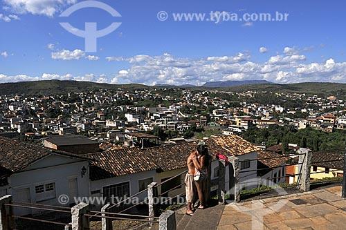 Assunto: Vista de Congonhas do Campo / Local: Minas Gerais (MG) - Brasil / Data: 18/04/2009