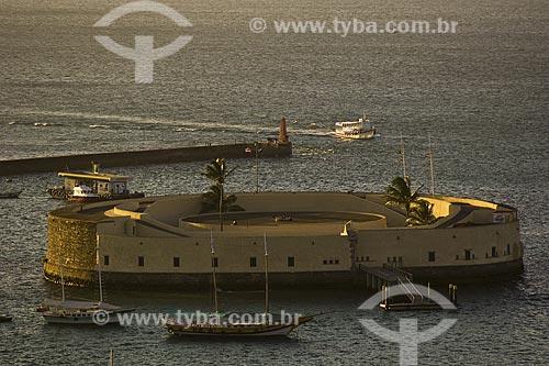 Assunto: Forte São Marcelo / Local: Salvador - Bahia (BA) - Brasil / Data: Fevereiro de 2006