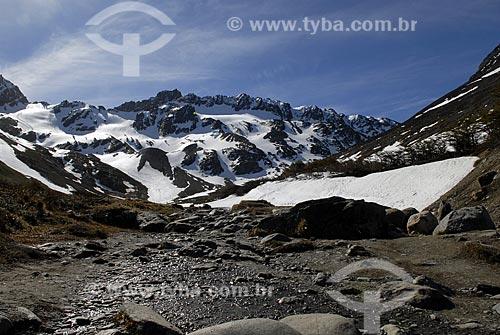 Assunto: Glaciar Martial, estação de esqui em Ushuaia. / Local: Ushuaia - Argentina / Data: 11/ 2008
