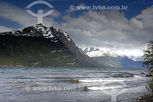Assunto: Lago Rocca no Parque Nacional Terra do Fogo / Local: Ushuaia - Argentina / Data: 11 / 2008
