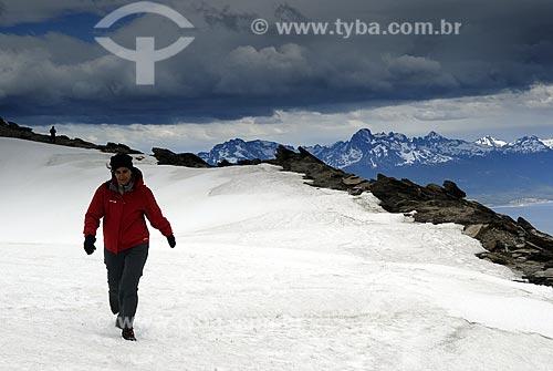 Assunto: Cume do Cerro Guanaco no Parque Nacional Terra do Fogo / Local: Ushuaia - Argentina / Data: 11 / 2008