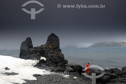 Assunto: Punta Plaza, local perto da Estação Comandante Ferraz na Baía do Almirantado / Local: Península Antártica / Data: 11 / 2008