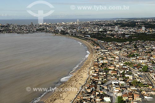 Assunto: Vista aérea da cidade de Macaé no norte fluminense / Local: Macaé - RJ - Brasil / Data: 04 / 2009