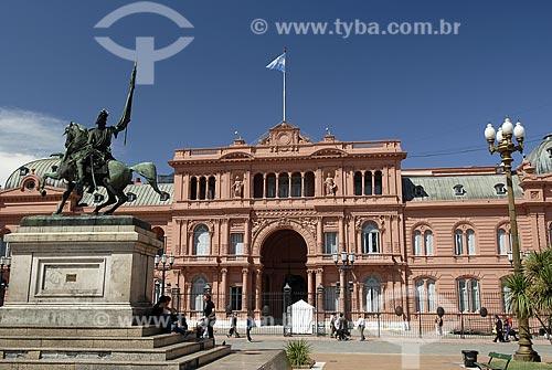 Assunto: Casa Rosada - Plaza de Mayo - Sede do Governo Argentino / Local: Buenos Aires - Argentina / Data: Fevereiro de 2008