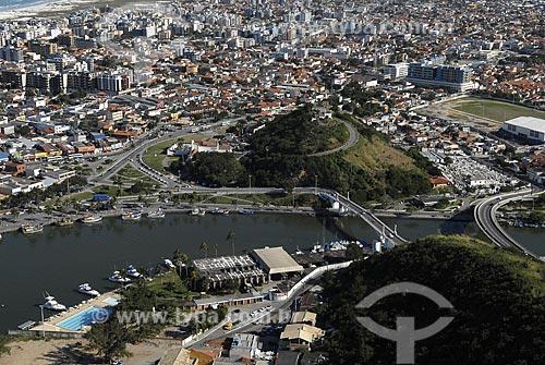 Assunto: Vista aérea do Canal do Itajuru / Local: Cabo Frio - RJ - Brasil / Data: 06/2008