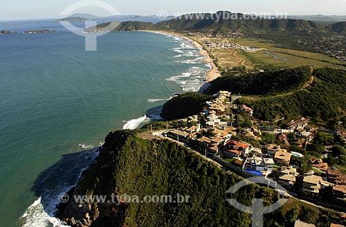 Assunto: Vista aérea do Alto de Geribá e Praia de Tucuns ao fundo / Local: Búzios - RJ - Brasil / Data: 06/2008